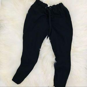 Fendi Crop Wool Trousers